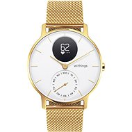 Withings Steel HR (36mm) LIMITED EDITION - Champagne Gold / White - Smartwatch