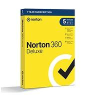 Norton 360 Deluxe 50 GB, 1 Benutzer, 5 Geräte, 12 Monate (elektronische Lizenz) - Internet Security
