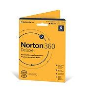 Norton 360 Deluxe 50 GB CZ, 1 Benutzer, 5 Geräte, 12 Monate (Karte) - Internet Security