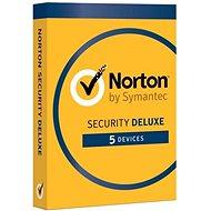 Norton Security Deluxe CZ 1 Benutzer für 5 Geräte für 2 Jahre (digitale Lizenz) - Internet Security