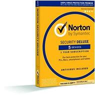 Symantec Norton Security Deluxe, 1 Benutzer, 5 Geräte, 12 Monate, 3 LIZENZ FÜR PREIS 2 (elektronische - Elektronische Lizenz