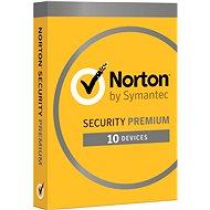 Symantec Norton Security Premium 25 GB 3.0 CZ elektronische Lizenz, 1 Benutzer, 10 Geräte, 12 Monate - Elektronische Lizenz
