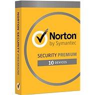 Norton Security Premium CZ, 1 Benutzer, 10 Geräte, 3 Jahre (elektronische Lizenz) - Internet Security