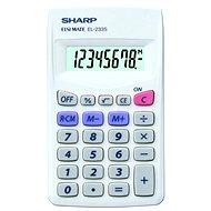 Sharp EL-233S schwarz - Taschenrechner