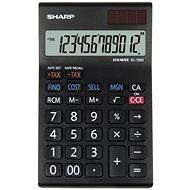 Sharp EL 128 SWH schwarz / weiß - Taschenrechner