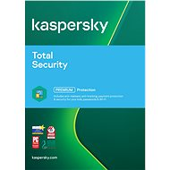 Kaspersky Total Security Multi-Device-Gerät 1 GB für 24 Monate, neue Lizenz - Elektronische Lizenz