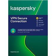 Kaspersky VPN Secure Connection für 5 Geräte für 12 Monate (elektronische Lizenz) - Internet Security
