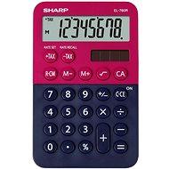 Sharp EL-760R rot / schwarz - Taschenrechner