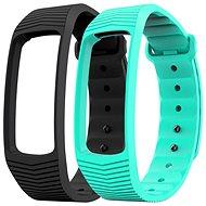 Set Smartwatch-Armband EVOLVEO FitBand B3 Schwarz + Türkis - Uhrband
