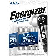 Energizer Ultimate Lithium AAA / 4 - Einwegbatterie