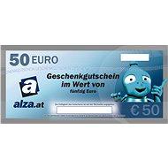 Elektronischer Alza.at Geschenkgutschein für den Kauf von Waren im Wert von 50 € - Gutschein