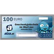 Elektronischer Alza.at Geschenkgutschein für den Kauf von Waren im Wert von 100 € - Gutschein