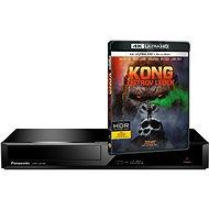 4K, Panasonic DMP-UB300EGK + dárek UHD Blu-Ray disk Kong: Ostrov lebek - Blue-Ray Player