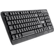 Yenkee YKB 1002CS USB schwarz - CZ/SK - Tastatur