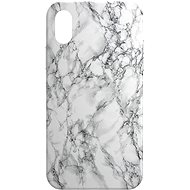 AlzaGuard - Apple iPhone X/XS - Weißer Marmor - Handyhülle