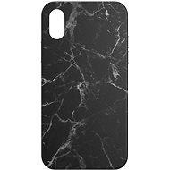 AlzaGuard - Apple iPhone X/XS - Schwarzer Marmor - Handyhülle