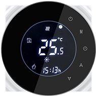 iQtech SmartLife GALW-B, WiFi-Thermostat für Kessel mit Potential-Schaltung, schwarz - Thermostat