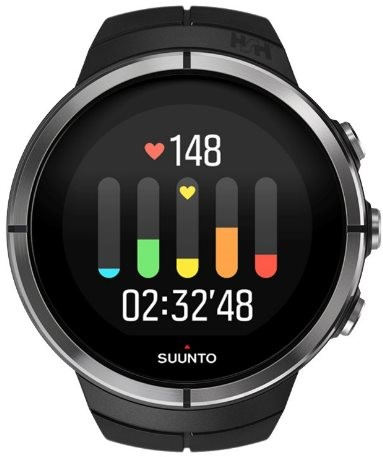 suunto spartan sport black hr sportuhr. Black Bedroom Furniture Sets. Home Design Ideas