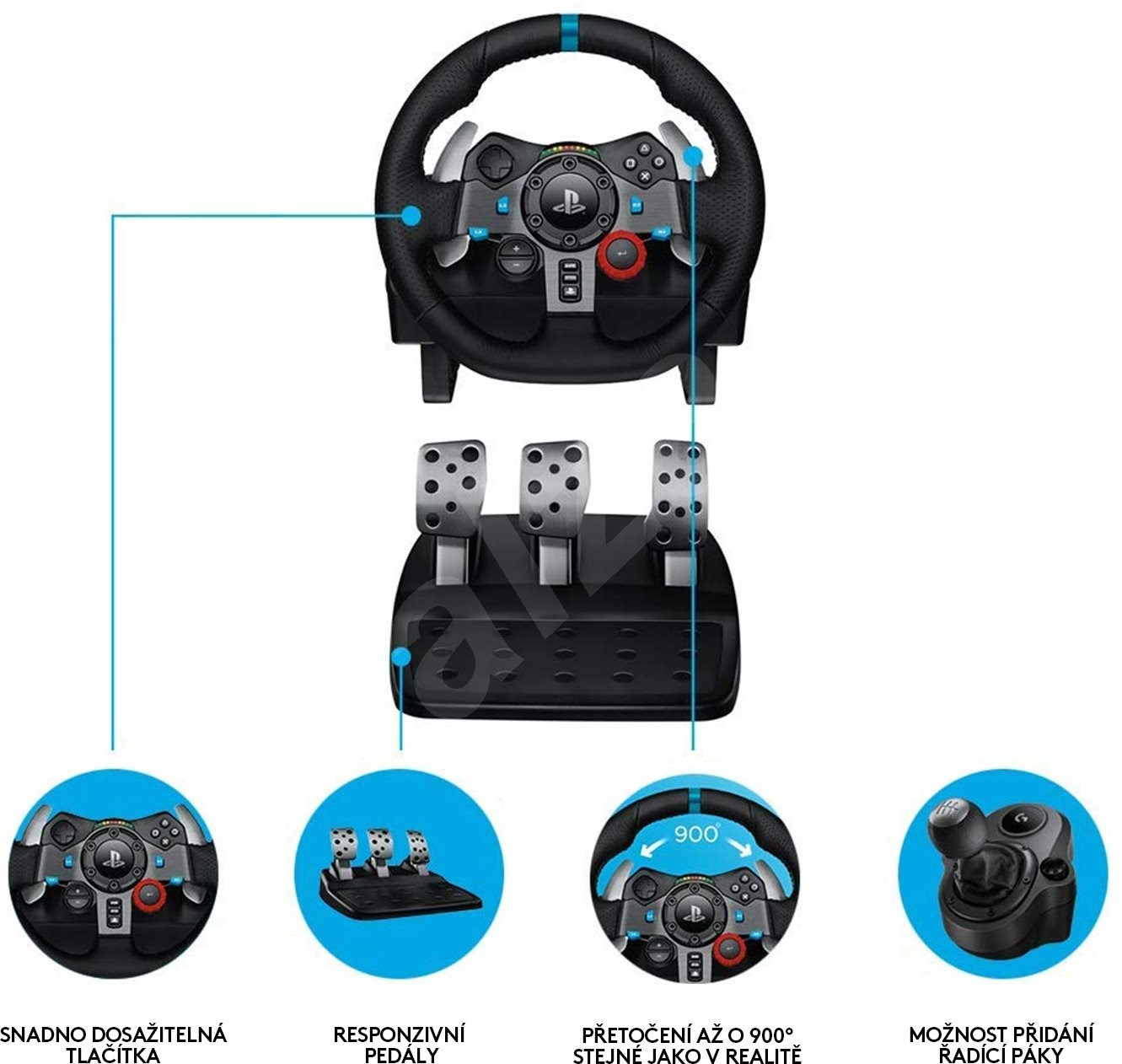 logitech g29 driving force gaming lenkrad. Black Bedroom Furniture Sets. Home Design Ideas