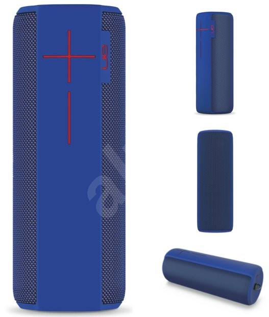 logitech ultimate ears megaboom electric blue bluetooth lautsprecher. Black Bedroom Furniture Sets. Home Design Ideas