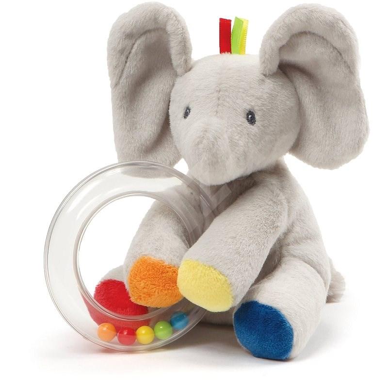Gund Baby Elefant Flappy mit Rasseln - Stoffspielzeug