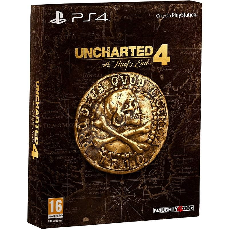 Uncharted 4: A Thief's End - Special Edition CZ - PS4 - Konsolenspiel
