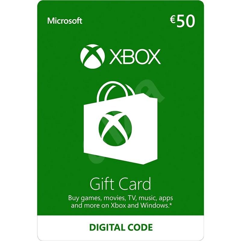 Xbox Live Geschenkkarte im Wert von 6 Eur