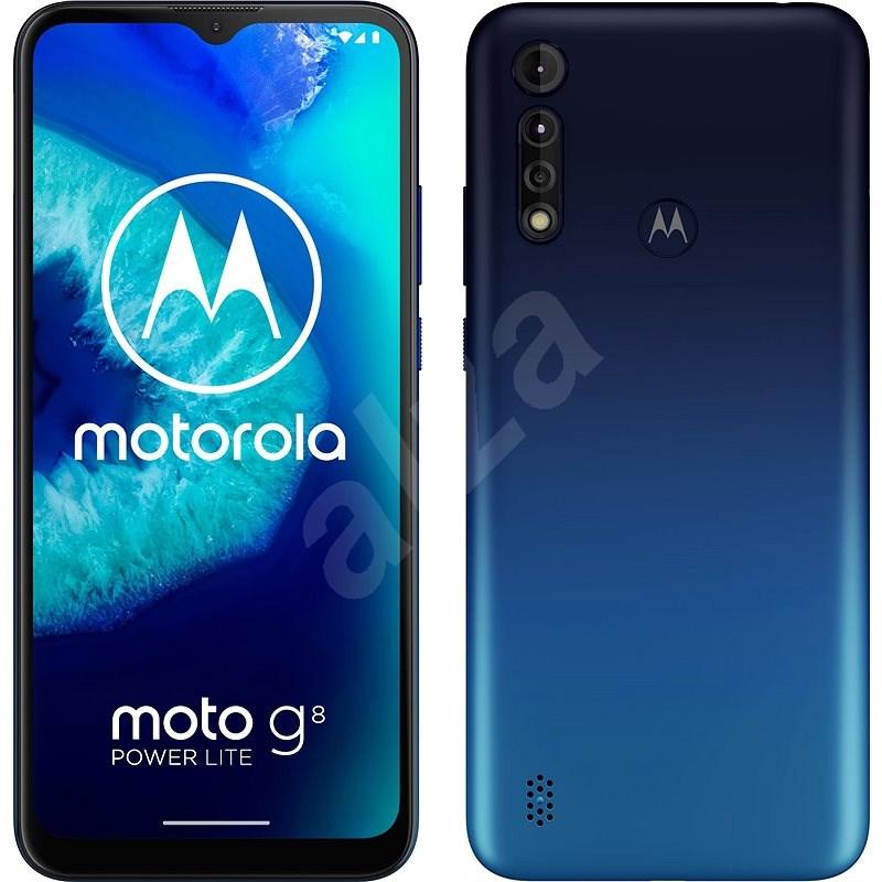 Motorola Moto G8 Power Lite 64 GB Dual-SIM-Blau - Handy