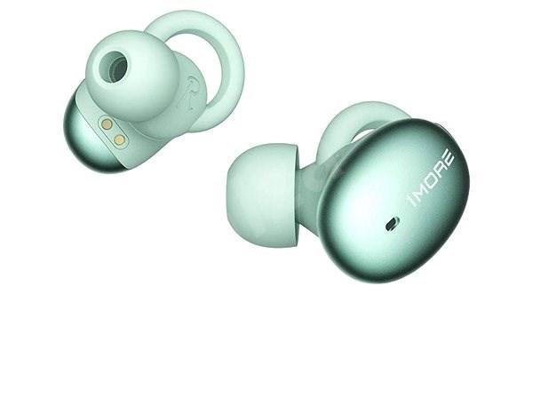 Stilvolle wirklich drahtlose Kopfhörer grün - Kabellose Kopfhörer