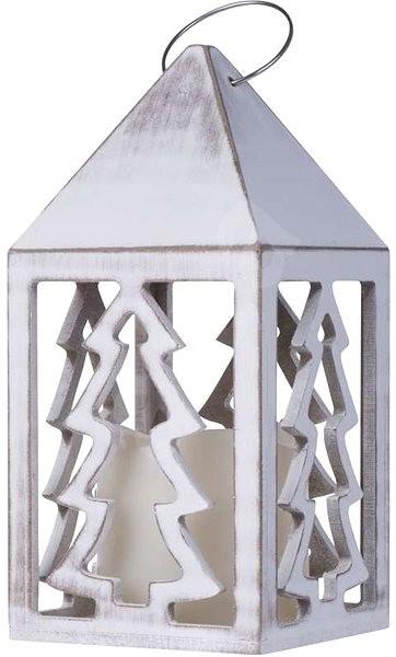 Weihnachtsbeleuchtung Mit Timer.Emos Led Dekoration Laterne Mit Einem Baum 3xaaa Warmes Weiß