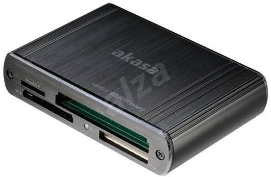 AKASA USB 3.0 Multi-Card-Reader AK-CR-08BK - Kartenleser