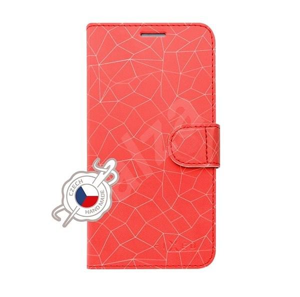 FIXED FIT für Samsung Galaxy A70 Motiv Red Mesh - Handyhülle
