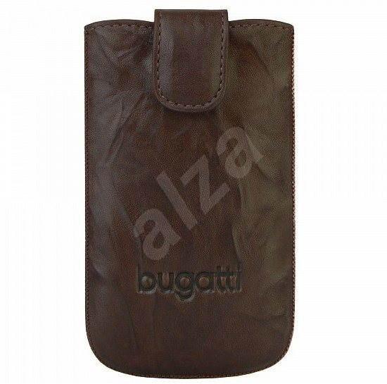 Bugatti Slim Case Leather Unique 2011 S Tobacco - Handyhülle