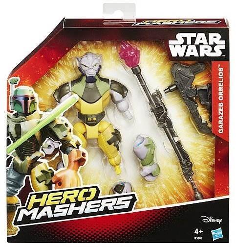 Star Wars Hero Mashers - Garazeb Orrelios Deluxe - Figur