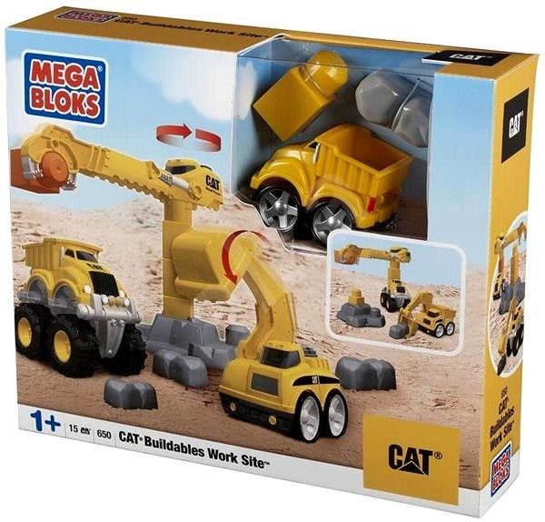 Mega Bloks Baumaschinen Cat Baukasten Alzaat