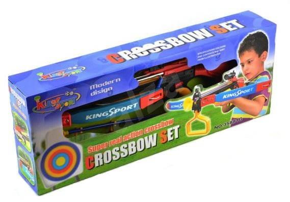 Schieß Spielzeug ARMBRUST groß aus Holz