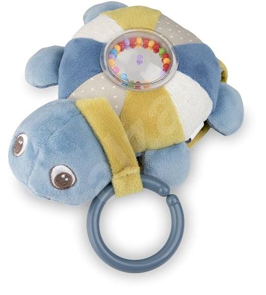 Canpol Babys Sea Turtle Plüsch Schildkröte rosa Spielzeug
