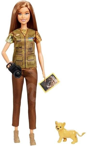 Barbie National Geographic Fotojournalistin mit Löwenjungem