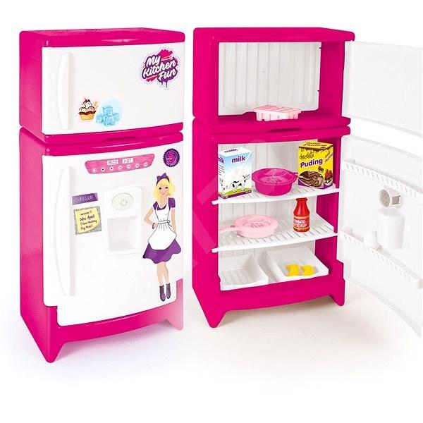 Down-Kunststoff-Kühlschrank mit Gefrierfach - Platikmodel | Alza.at