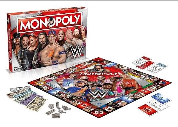 Monopoly WWE - Refresh, ENG - Gesellschaftsspiel