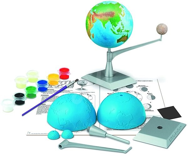 Erde und Mondmodell - Model
