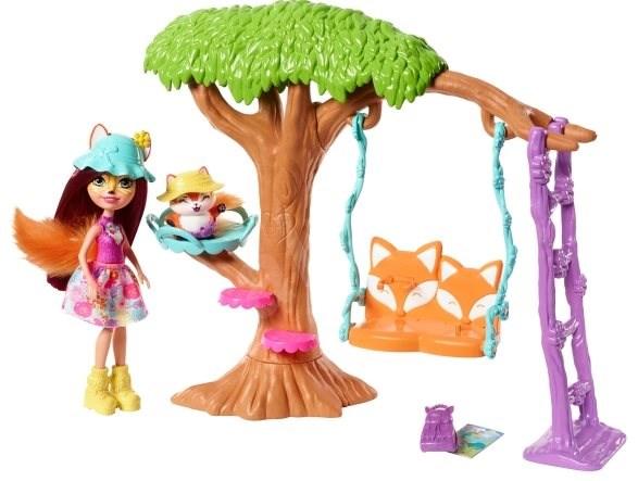 Enchantimals Wohnkomfort mit einem Baum - Puppe