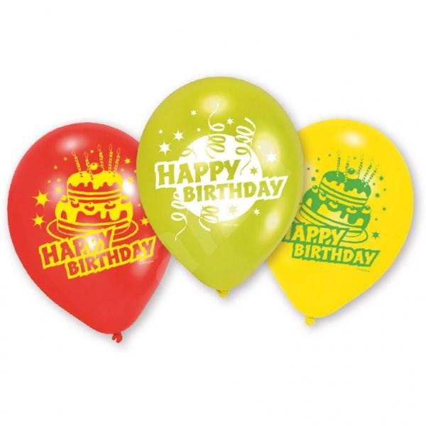 Amscan Happy Birthday Ballons 6 Stück - Spielset