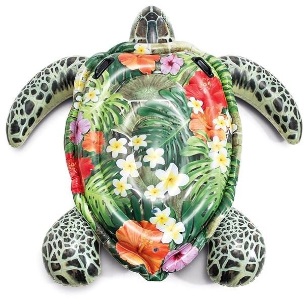 INTEX Aufblasbare Schildkröte mit Griffen Aufblasbares