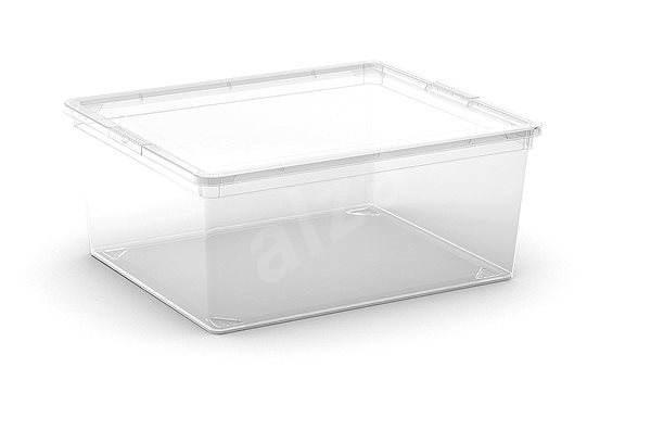Aufbewahrungsbox KIS C Box M - 18 l - transparent - Bank | Alza.at