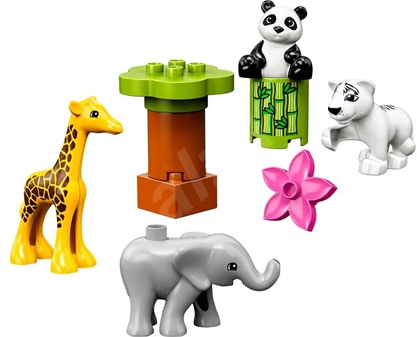 LEGO DUPLO Town 10904 Süße Tierkinder - LEGO-Bausatz