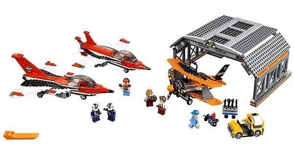 Lego City 60103 Flughafen Große Flugschau Baukasten Alzaat