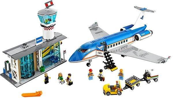 Lego City 60104 Flughafen Abfertigungshalle Baukasten Alzaat