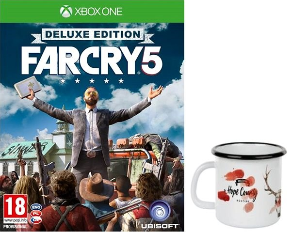 Far Cry 5 Deluxe Edition + Original Tasse Xbox One