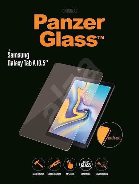 PanzerGlass Edge-to-Edge Samsung Galaxy Tab A 10.5 klar - Schutzglas
